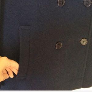 Pendleton Jackets & Coats - { Pendleton } wool peacoat in navy blue